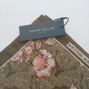 Peter Millar Linen/Silk Pocket Square